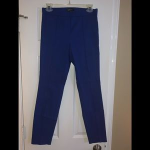Dalia blue dress ankle pants, jeggings 4